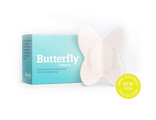 Butterfly Body Liner Pads Bowel Leaks (Unisex) L/XL Men's Pant Size 32