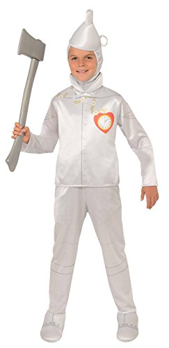 Tinman Costumes (Wizard of Oz Halloween Sensations Tin Man Costume, Medium (75th Anniversary Edition))