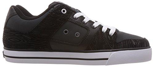 Dc Mens Pure Xe Skateschoen Grijs / Zwart / Grijs