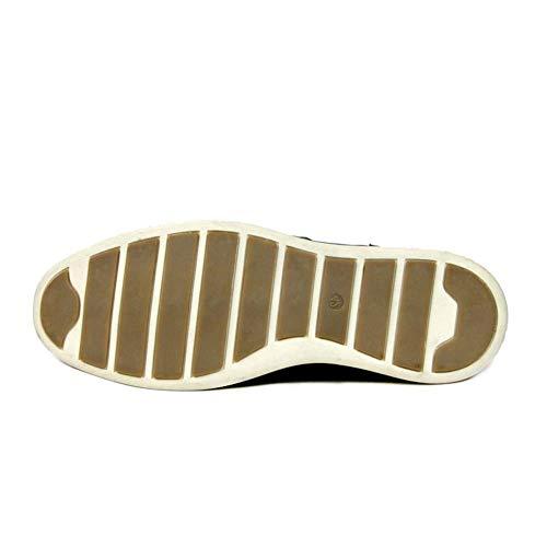 SimpleC Perforato Chukka Marrone da Oxford Scarpe Stringate Alti Piatto Stivali Uomo rgrwH