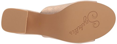 Women's Gold Sandal Black Seychelles Heeled Rose Commute dqwtOSY