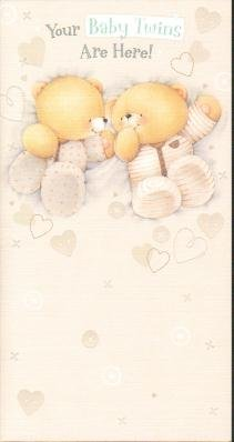 Amazon baby twins forever friends new baby greetings cards baby twins forever friends new baby greetings cards m4hsunfo