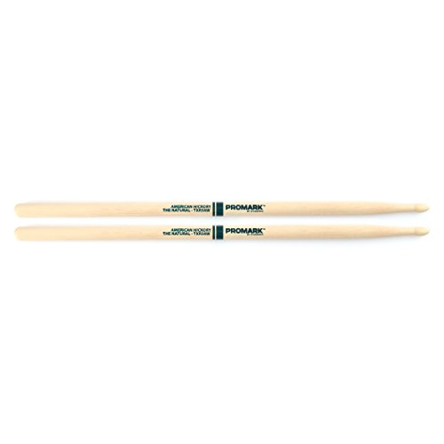 Promark TXR5AW American Hickory Natural Wood Tip, Single Pair, Unlacquered