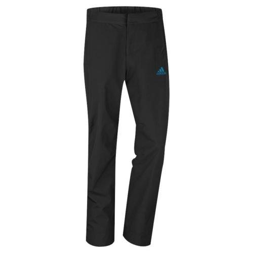Adidas Rain Pants (Adidas Golf GoreTex 2-Layer Pant Black/Solar Blue XL)