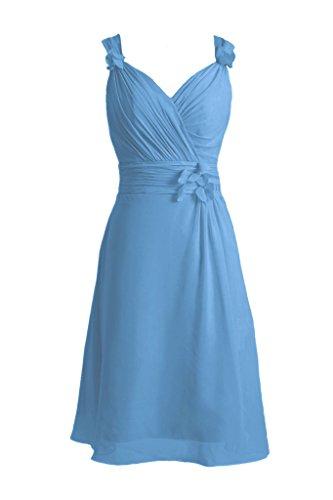 Wedding 37 Elegant BM10298 Chiffon Cheap Dress DaisyFormals Dress Blue Party royal qfI78wRw
