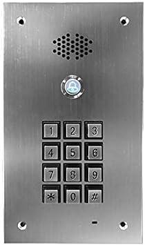 Interfono GSM con teclado de código: Amazon.es: Bricolaje y ...