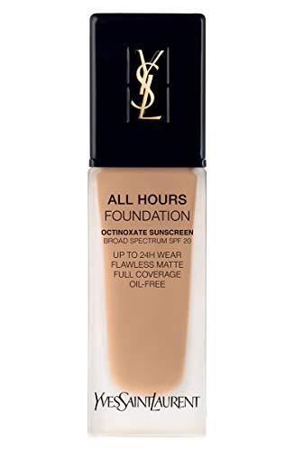 (YVES SAINT LAURENT All Hours Full Coverage Matte Foundation SPF 20 25ml # BD45 Warm Bisque)