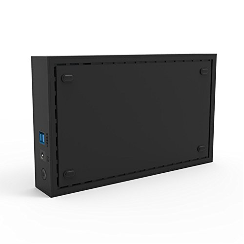 Mackertop Hard Drive Enclosure 3.5 Inches, USB 3.0 to SATA External Hard Drive Enclosure Case for 3.5'' SATA HDD (Hard Drive Not Included) by Mackertop (Image #2)