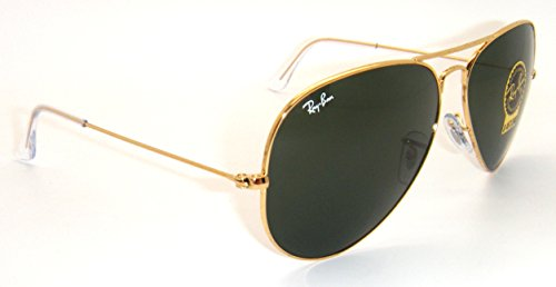 8b358b47e6 Amazon.com  RAY BAN AVIATOR RB3026 Sunglasses - Gold L2846 Large (62mm)   Shoes
