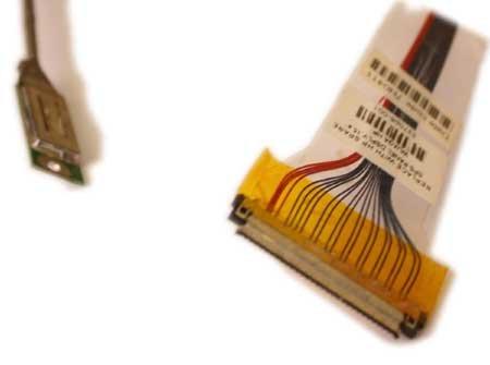 ITALIANBIZ Cable LCD Cable Pantalla para Ordenador Portátil HP NX7300 V1000: Amazon.es: Electrónica