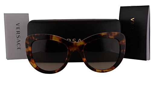 Versace VE4325 Sunglasses Havana w/Brown Gradient Lens 520813 VE - Sunglasses Versace Prescription