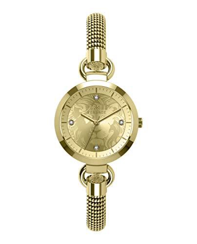 Versus Versace Womens Roslyn Mesh Watch VSP631718