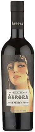 Vino Dulce Pedro Ximenez Aurora de 50 cl - D.O. Jerez-Sherry - Bodegas Yuste (Pack de 1 botella)