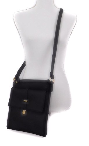 Strap Front Joy Bag Black with The Crossbody Adjustable Collection Flap xUtwt7v8