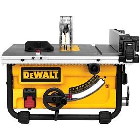 Dewalt Dwe7480 10 In Compact Job Site Table Saw With Site