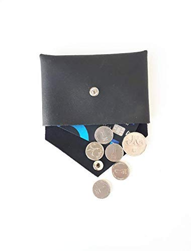 Coin Pouch Pocket Wallet Snap Wallet Card Wallet Leather Wallet Change Purse Small Purse Minimalist Wallet Leather Accessories Gift