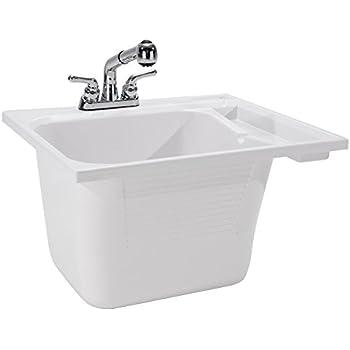 Amazon Com Cashel Drop In Utility Sink Kit Home Amp Kitchen