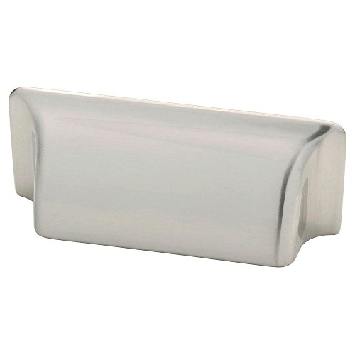 Liberty 3 in. (76mm) Satin Nickel Rectangular Bin (Rectangular Bin Pull)