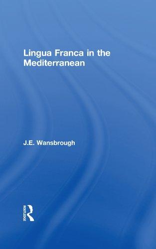 Lingua Franca in the Mediterranean Pdf