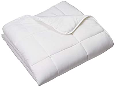 WEEKENDER Quilted Down Alternative Hotel-Style Comforter - Use as Duvet Insert or Stand-Alone Comforter - Hypoallergenic - Great for All Seasons - Corner Duvet Tabs - Classic White by WEEKENDER
