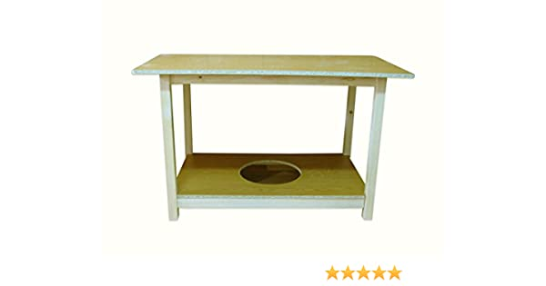 Mesa camilla rectangular (140 centímetros, 80 centímetros): Amazon ...