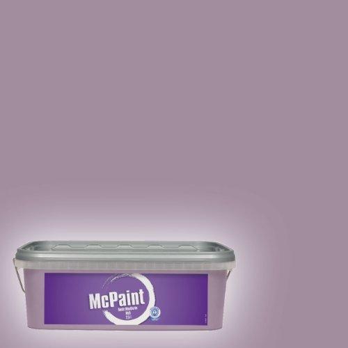 McPaint Bunte Wandfarbe matt Mauve 2,5 Liter