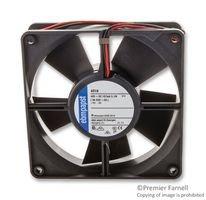 119x32mm 48VDC EBM-PAPST 4318NN DC Fans Axial Fan 112CFM Ball