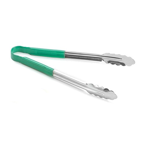 Green Coated Tongs - Tablecraft S/S 12