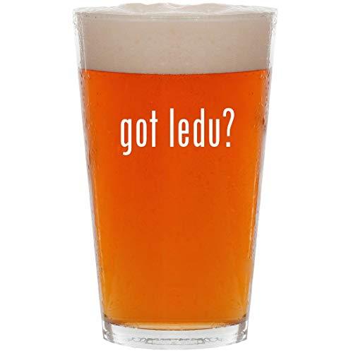 got ledu? - 16oz All Purpose Pint Beer Glass