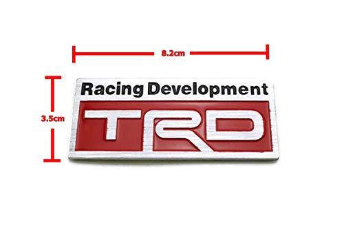 Racing Development TRD Metal Badge Logo Emblem 8.2x3.5cm