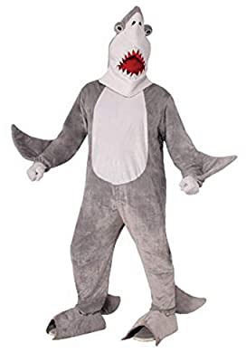 Forum Novelties Men's Chomper The Shark Plush Mascot Costume