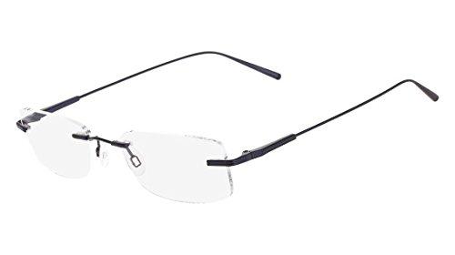 Flexon FLEXON E1091 Eyeglasses 412 Brushed Navy