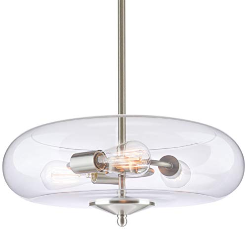 Stainless Steel Dome Pendant Light in US - 1