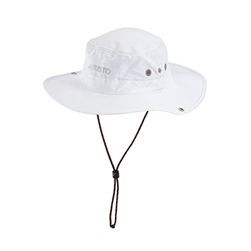 Musto Fast Dry Brimmed Hat in WHITE AL1410