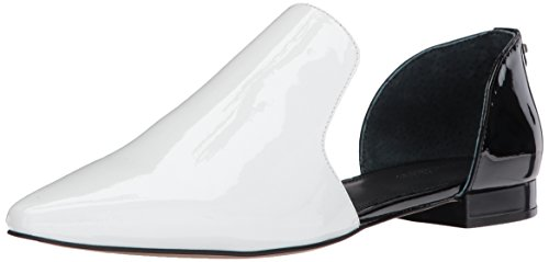 cheap reliable Calvin Klein Women's Edona Loafer Flat White/Black pick a best cheap price cheap 2015 new low shipping fee cheap price cost cheap price bCKCAwD
