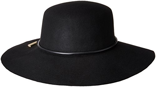 Ted Baker London Junior's Rope Trim Flat Brimmed Hat, Black, One - Baker Junior Ted