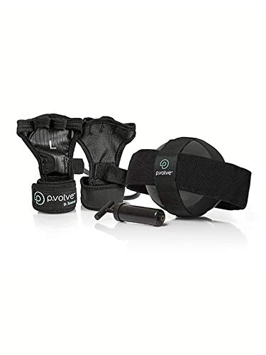 P.volve Premium Kit - Home Workout Equipment (Black) (Body Sculpting For Women Complete Arm Workout)