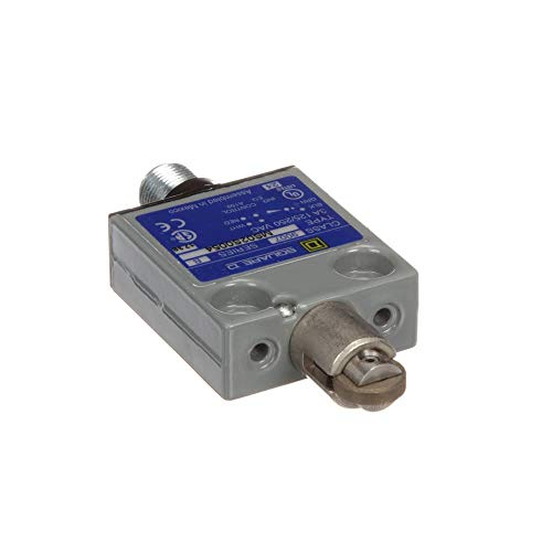 Limit Switch; SPDT; 6A 120VAC; Roller Plunger; M12 Connector; UL CSA