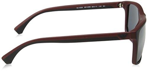 Armani On Sonnenbrille EA4033 Top Emporio Bordeaux 56146g Black dFHwxd5qX
