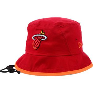- New Era Miami Heat Hardwood Classics Tipped Bucket Hat