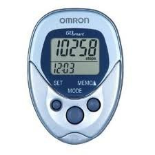 Omron Pedometer - Model HJ-112 - Each Sport, Fitness, Training, Health, Exercise Gear, Shape UP