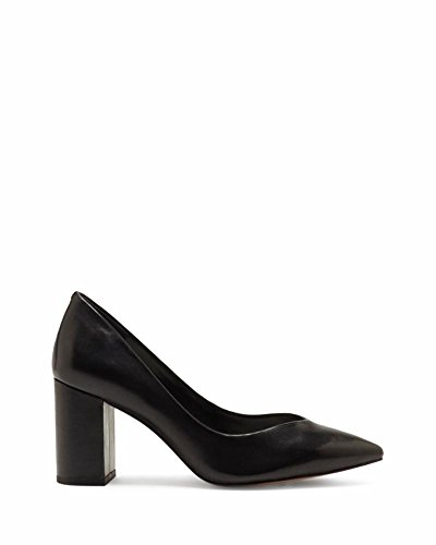 1. State Womens 1s-Saffy Pointed Toe Classic Pumps, Black/Nappa, Size 8.0