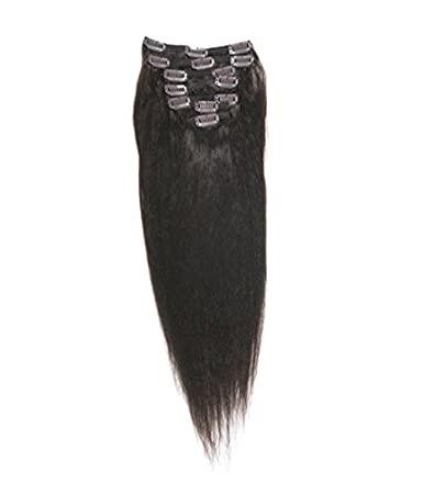 ef8f2d072597 Amazon.com : SHE by Beyond The Beauty Clip on Remy Hair Extensions ...