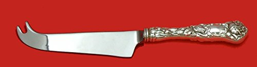 Bridal Rose by Alvin Sterling Silver Cheese Knife with Pick Custom Made HHWS