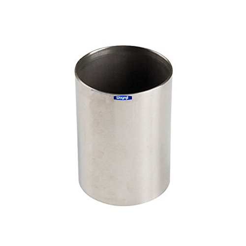 SOLID FLASK STAINLESS STEEL 2 X 2.5 CASTING INVESTMENT MOLD