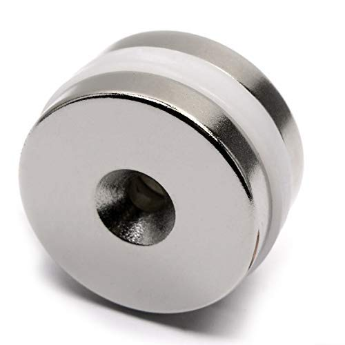 """10 Large Neodymium N52 Disc Magnets Super Strong Rare Earth Cylinder 3//8 × 3//8/"""""""