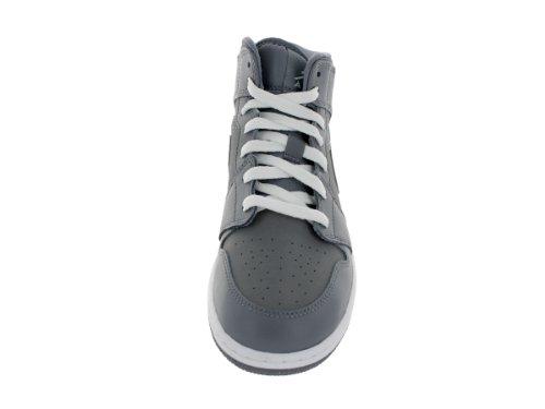 Mid da Basket Grigio Jordan Bambino Bianco Scarpe BG Nike 1 wnxcgtYqq0