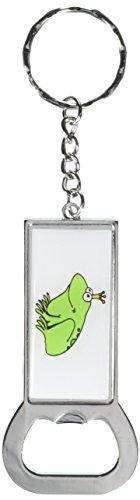 - Graphics and More Ring Bottlecap Opener Key Chain, Frog Prince Fantasy (KK0174)
