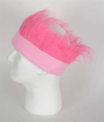 Pink Hairy Headband