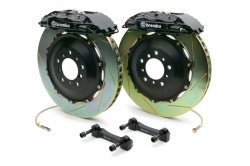 Brembo 2P2.8023A1 GT Big Brake Kit Rear Slotted Infiniti G35 03-06